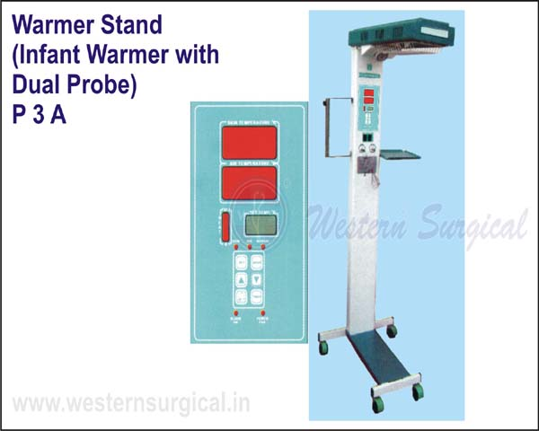 Warmer stand with Dual probe