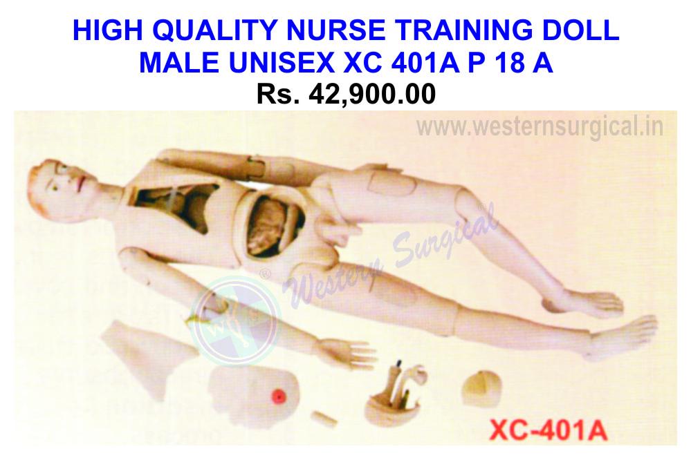 High quality nurse training doll(male)