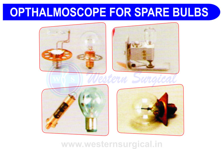 BULB LAMP OPTHALMOSCOPE