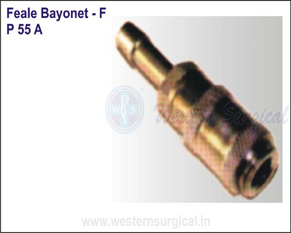 Female Bayonet - F